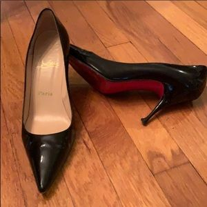 AUTHENTIC Christian Louboutin Patent Leather Pumps